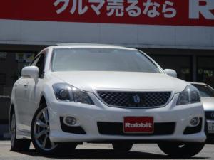 トヨタ クラウン 3.5アスリートGパッケージ サンルーフ 黒革シート HDDマルチ シートエアコン カードキー