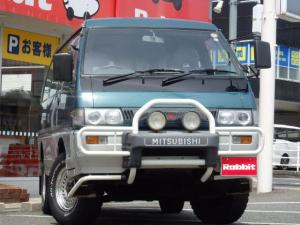 三菱 デリカスターワゴン GLX 社外CD 4WD ディスチャージヘッドライト 社外15AW ターボ