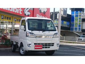 ダイハツ ハイゼットトラック エクストラSAIIIt 2WD オートマ スマアシ3 LEDライト+フォグ パワステ エアコン 木目調パネル 純正オーディオ
