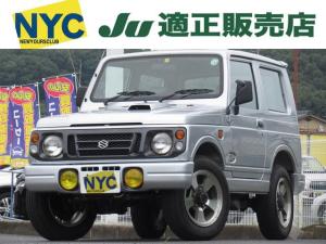スズキ ジムニー ランドベンチャー パートタイム4WD エアコン パワステ アルミホイール 背面タイヤ