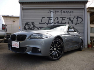 BMW 528iツーリング 黒革 サンルーフ WALD20AW