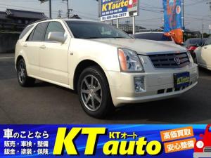 キャデラックSRX 4.6L 4WD  DVDナビ 左ハンドル ディーラー車