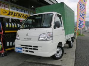ダイハツ ハイゼットトラック  エアコンパワステ ホロ車 4WD