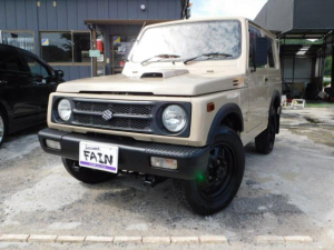 スズキ ジムニー ワイルドウインドリミテッド オールペイント・ターボ・4WD