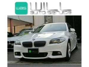 BMW 5シリーズ 523iツーリング Mスポーツ HDDナビ 1オーナー