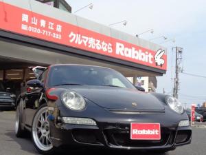 ポルシェ 911 911カレラ 左H BBS19インチAW ビルシュタイン車高調 GTウィング 外バンパー 外マフラー 外ナビTV Bカメラ 黒レザー