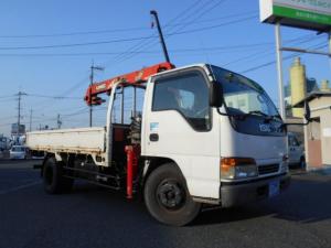 いすゞ エルフトラック クレーン 古川ユニック ラジコン ETC 5速MT