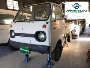 マツダ ポーターキャブ ベースグレード 4速MT ラジオ 三方開 軽トラック 白