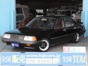 三菱 ギャラン・シグマ SLスーパー ワンオフ車高調 SSR14インチAW ETC
