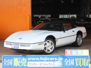 シボレーコルベット コンバーチブル ディーラー車 本革シート クルーズコントロール モデル年式1989年モデル 純正17インチAW 幌状態良好 純正ビルシュタインショック