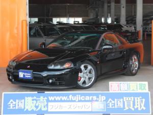 三菱 GTO ツインターボMR 純正6速マニュアル ZEESマフラー テイン車高調 純正ステアリング パワーシート 純正18インチアルミホイール 取り扱い説明書 保証書 カロッツェリアオーディオ