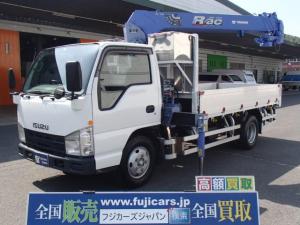 いすゞ エルフトラック  クレーン4段 タダノZR234 2,3吊り モデル2006y ラジコンフックイン 積載2000Kgアオリアルミブロック インタークーラーターボNOX適合HSA(坂道後退防止補助)