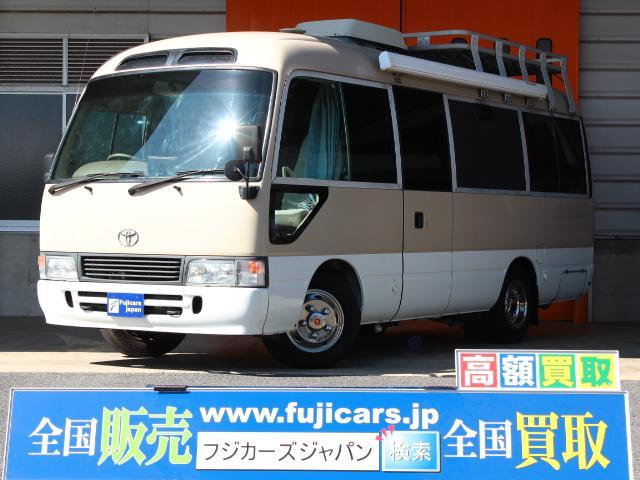 ☆バスコン コースター オリジナルキャンパー☆ サブバッテリー コンバーター 1500Wインバーター ルーフベント