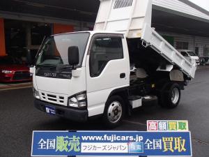 いすゞ エルフトラック  強化ダンプ 極東製3方開き コボレーン付き 積載2000Kg HSA(坂道後退防止補助)ETC エンジン4HL1型NOX適合