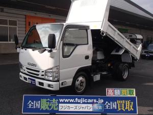 いすゞ エルフトラック 強化ダンプ 積載2000Kg 3方開き 新明和製 インタークーラーターボ NOX適合HSA(坂道後退防止補助)格納ミラー純正フォグランプ付き ETCキーレス
