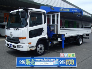 UDトラックス コンドル クレーン4段 ラジコン 積載2500Kg
