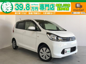 三菱 eKワゴン M 4WD エコアイドル シートヒーター キーレスエントリー