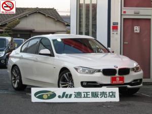 BMW 3シリーズ 328iスポーツ /純正18インチAW/メーカー純正HDDナビ/フルセグ/Bluetooth/バックカメラ/ETC/ドラレコ/クルーズコントロール/オートHIDライト/フォグランプ/パワーシート/正規ディーラー/禁煙車