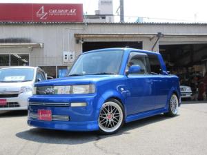 トヨタ bB オープンデッキ ナビ 社外車高調 17インチAW