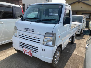 スズキ キャリイトラック  4WD AC MT 軽トラック ナビ AW オーディオ付