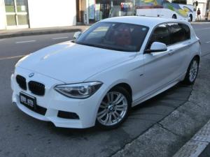 BMW 1シリーズ 116i Mスポーツ ナビ DVD再生 RECROシート イグニッションコイル全数交換済 スパークプラグ全数交換済 HIDライト HIDフォグランプ