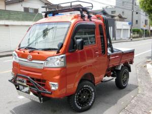 ダイハツ ハイゼットトラック ジャンボ 4WD 4インチリフトアップ 構造変更済