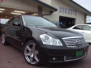 日産 フーガ 350XV VIP ナビ/Bカメラ/サンルーフ/皮シート