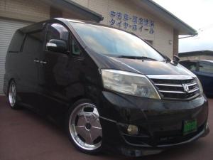 トヨタ アルファードG ASプラチナセレクション エアロ/車高調/後期モデル/4WD