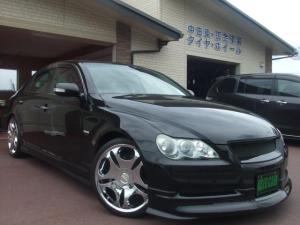 トヨタ マークX エアロ/車高調/19インチAW/スーパーチャージャー限定車