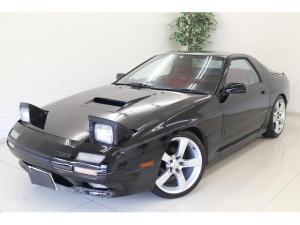 マツダ サバンナRX-7 GT-X マツダスピードシート 車高調 社外マフラー ブリッツブースト計 18インチアルミ
