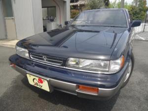 日産 レパード XS ターボ V6 ツインカムターボ アルティマ仕様 社外ナビTV バックカメラ ETC搭載 GOO鑑定車