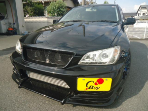 トヨタ アルテッツァ RS200 Lエディション 6MT エアロパーツ 社外18AW ローダウン 社外マフラー