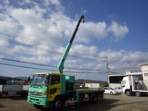 日野 レンジャープロ 7t 3段ラジコンフックイン ユニック車