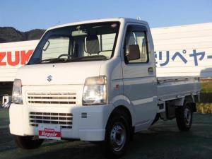 スズキ キャリイトラック KCエアコン・パワステ エアコン パワステ エアバック 5MT 2WD ドライブレコーダー ETC ワンオーナー