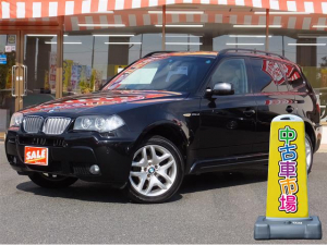 iBMW BMW X3 2.5si 4WD 純正ナビ ETC 電動シート HID