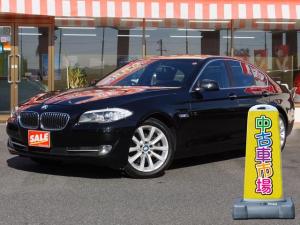 BMW 5シリーズ 528iターボ 本革シート 純正ナビ バックカメラ