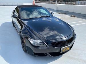 BMW M6 カブリオレ 革シート パワーシート ETC AW19インチ