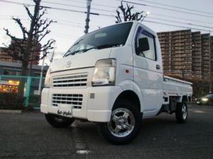 マツダ スクラムトラック KCスペシャル リフトアップ ヨコハマMTタイヤ4本新品 社外12インチアルミ エアコン パワステ 5速MT