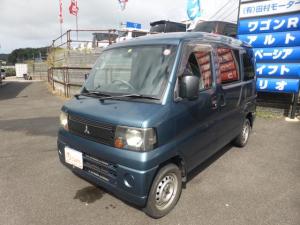 三菱 ミニキャブバン  5MT パートタイム4WD エアコン パワステ スモーク CD