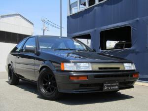 トヨタ カローラレビン GTV 3型 後期モデル BLITZ車高調 LSD ワタナベ14インチアルミホイール 純正マフラー クスコラテラルロッド タイミングベルト交換済み NEWペイント オリジナルシート