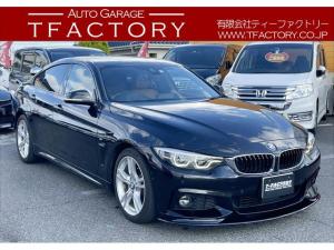BMW 4シリーズ 420iグランクーペ Mスポーツ 後期/アダプティブLEDヘッドライト/純正HDDナビ/地デジ/フルセグ/バックモニター/アクティブクルーズコントロール/デジタルメーター/電動キックリアゲート/ETC/Bluetoothオーディオ