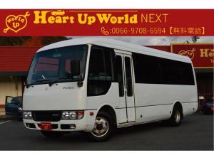 三菱ふそう ローザ 28人乗りバス SDナビ・バックカメラ・ETC