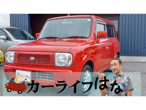 スズキ アルトラパン G 社外ディスクナビ CD DVD