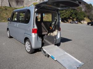 ダイハツ タント  Goo1年間無料保証 スローパー 福祉車両 リアシート付き 4人乗り