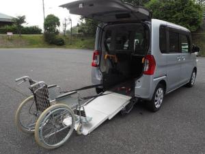 ダイハツ タント L スローパー リアシート付き4人乗り 電動ウインチ 福祉車両 Goo1年間無料保証付き