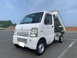 マツダ スクラムトラック ダンプ 4WD 5速マニュアル デフロック エアコン パワステ