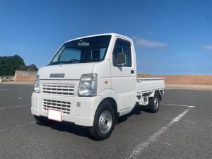 スズキ キャリイトラック KCエアコン・パワステ 4WD 5速マニュアル 車検令和4年1月 タイヤ新品交換済み