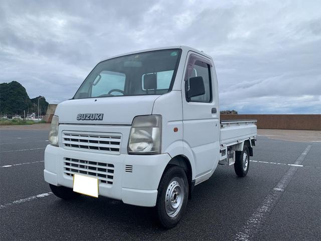 オートマ 4WD エアコンパワステ 車検令和4年4月 希少なAT軽トラックです!!