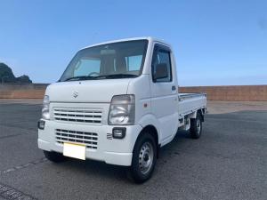 スズキ キャリイトラック KCエアコン・パワステ 5速マニュアル 4WD 車検令和4年8月まで