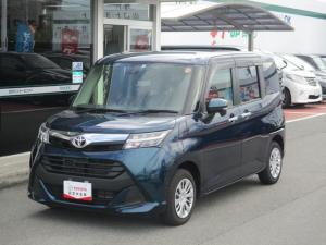 トヨタ タンク G S 安全装備 バックカメラ 両側電動スライドスペアタイヤ